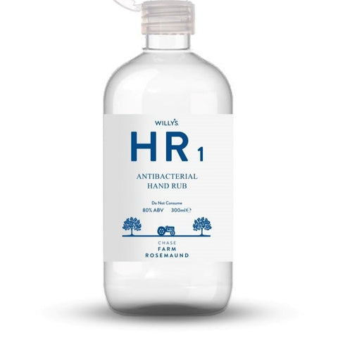 Hand Rub Sanitiser (80%Abv) (300ml)