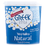 YEO VALLEY GREEK STYLE YOGHURT (ORGANIC) (950G)