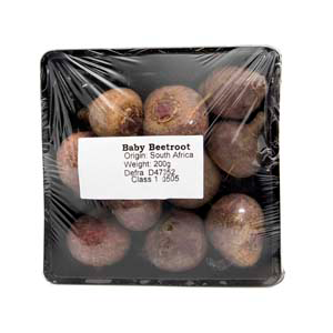 Baby Red Beetroot (200g)