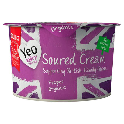 YEO VALLEY SOUR CREAM (200G)