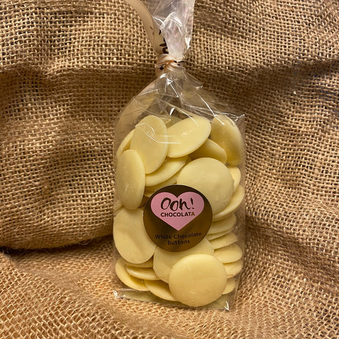 Creamy White Chocolate Buttons (190g)