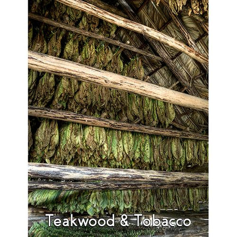 Teakwood Tobacco 28oz 3 Layer Jar Candle