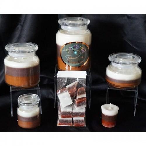 Cinnamon Spice 10-Pack 3 Layer Votive