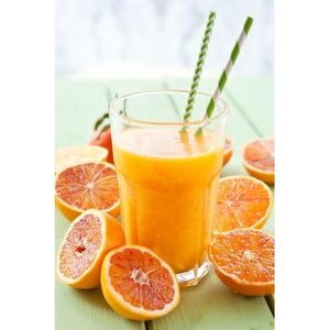 Fresh Squeezed Orange 4oz 3 Layer Jar Candle
