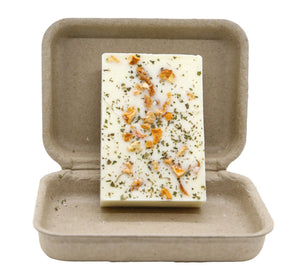 Cilantro Orange 3 oz 100 Percent Soy Organic Garden Melt Bar