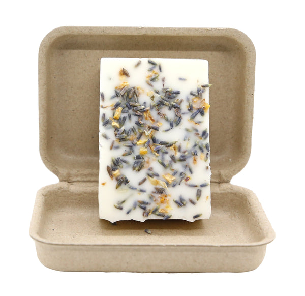 Lemon Lavender 3 oz 100 Percent Soy Organic Garden Melt Bar