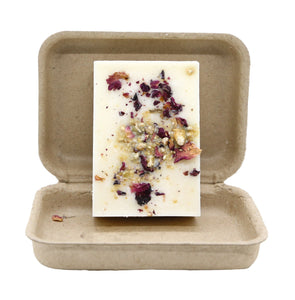 Rosewater Tea Cookie 3 oz 100 Percent Soy Organic Garden Melt Bar
