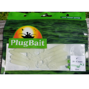 "PlugBait 4"" - 10 Count Glow Bag"