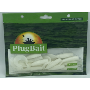 "PlugBait 5"" - 10 Count White Bag"