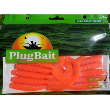 "Load image into Gallery viewer, PlugBait 6"" - 10 count Grubs bags Sea Robin"
