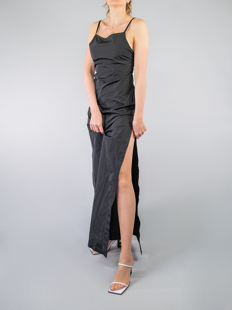 vestito garment dyed nylon slip