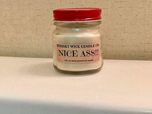 Nice Ass 9 oz. Soy Bathroom Candle Choose Your Fragrance