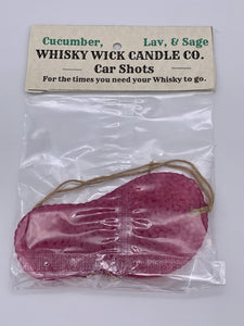 Whisky Wick Car Shots Air Fresheners Flip Flop