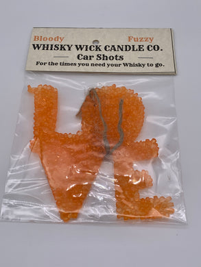 Whisky Wick Car Shots Air Fresheners Love