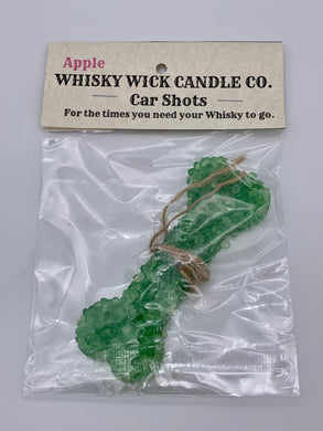 Whisky Wick Car Shots Air Fresheners Bone