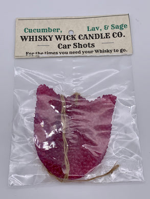 Whisky Wick Car Shots Air Fresheners Tulip