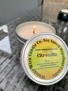 8 oz. Citronella Soy Candle Tin