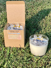 Load image into Gallery viewer, Love and Light 12.5 FL oz crystal infused candle.