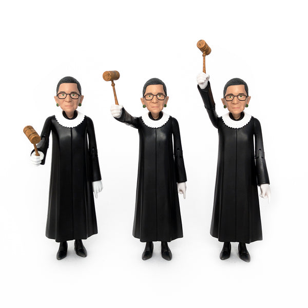 Vote For Your Favorite Photo of the RBG Action Figure