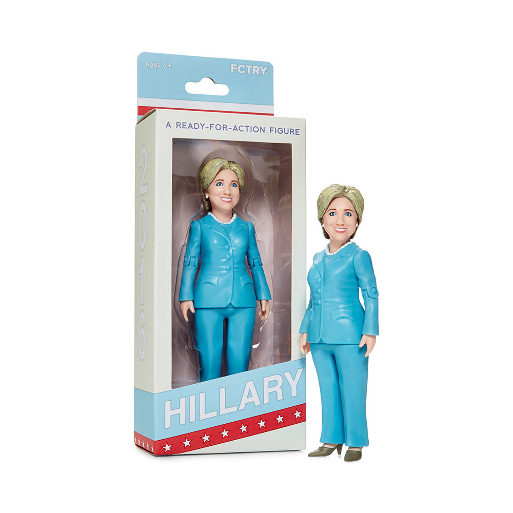 Hillary Clinton Action Figure