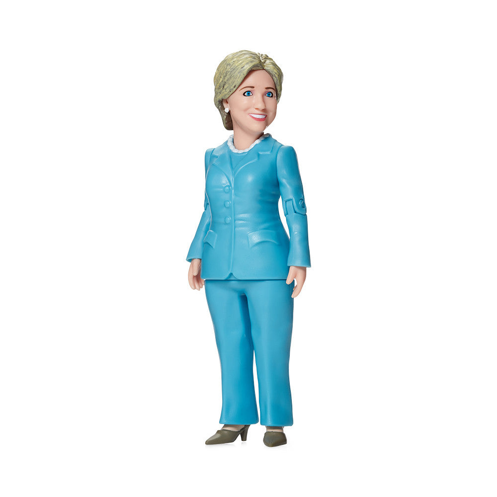 hillary clinton action figure right