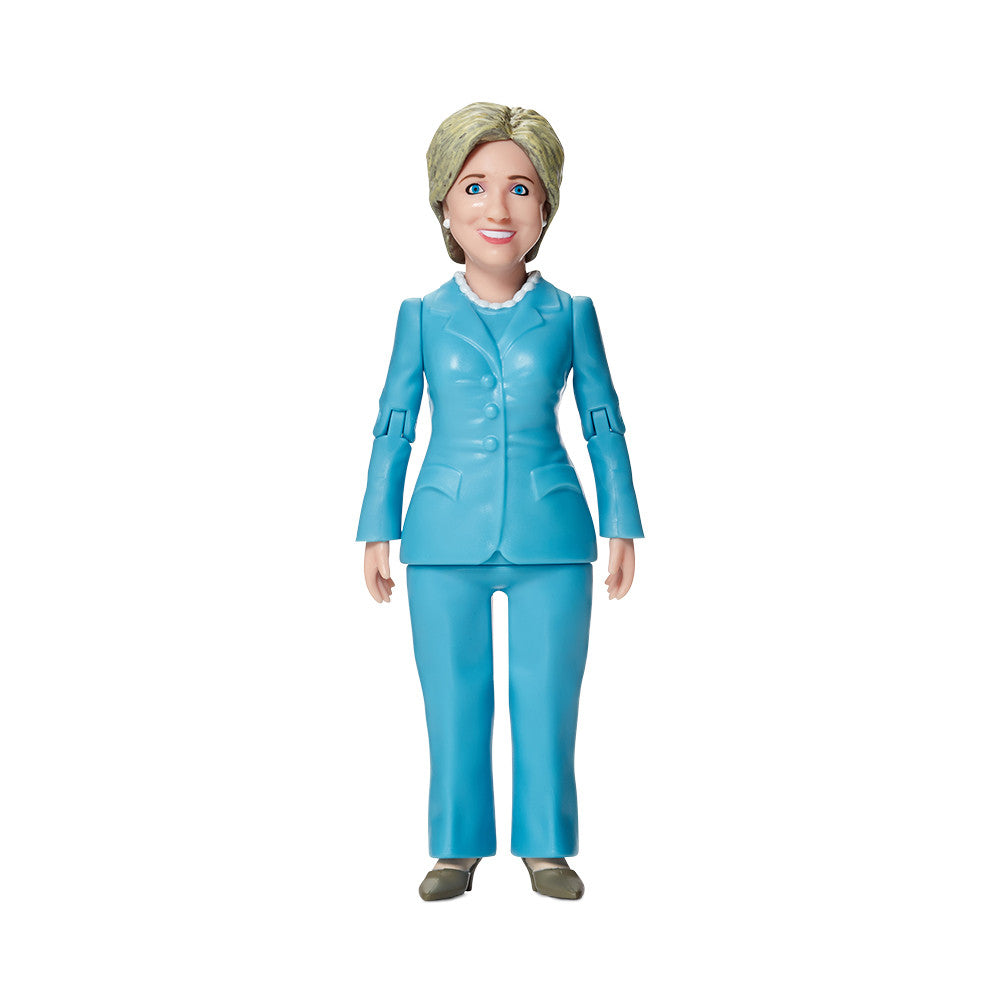 hillary clinton action figure front