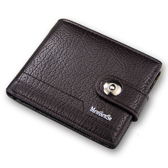 Billetera de leather genuino para hombre 14771-8