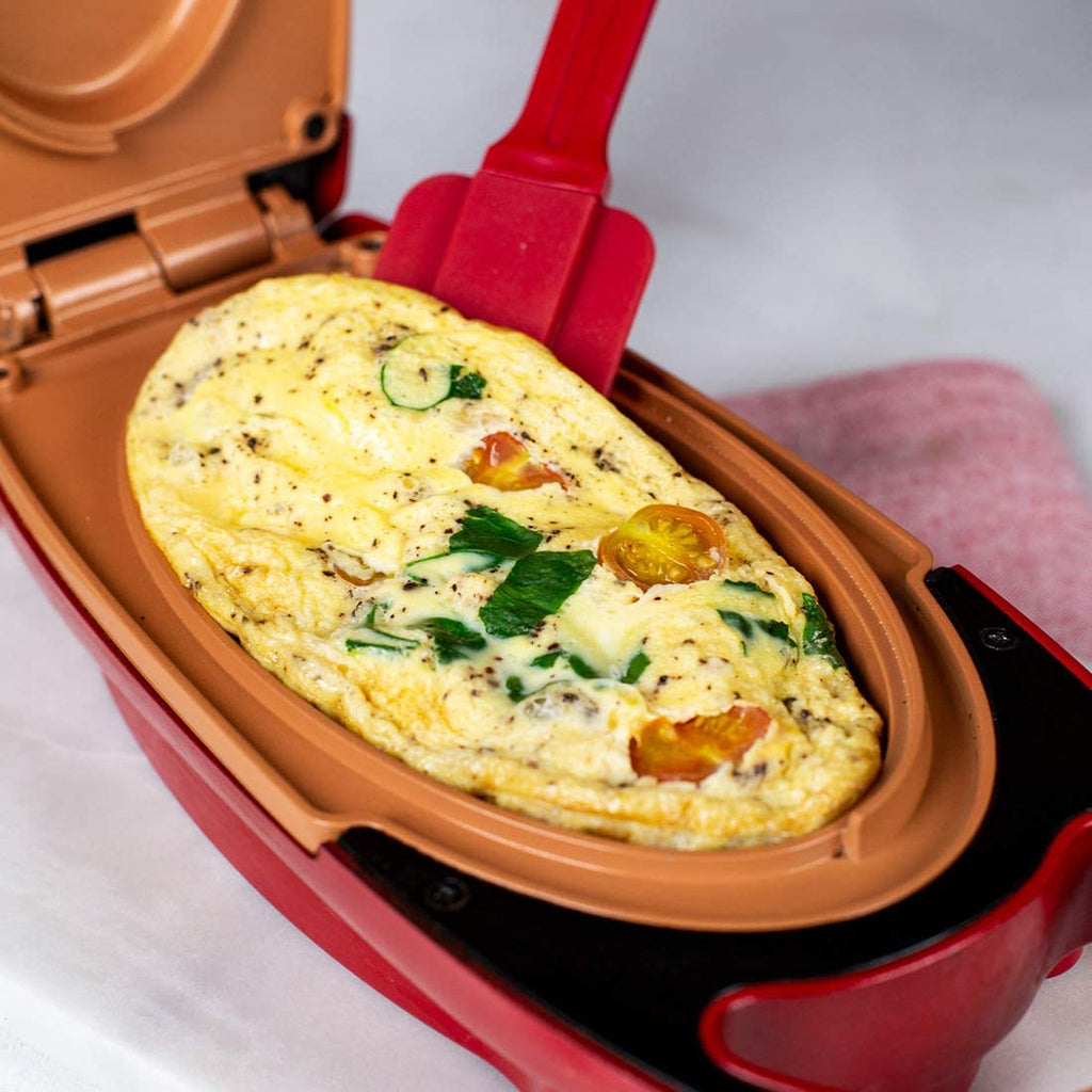 5-minute Red Copper Chef - Non-stick omelet pan