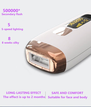 Hair Removal Laser Epilator 500000 Flash