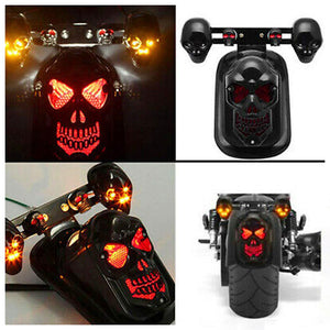 Universal Motorcycle Steering Integrated Taillight Skeleton Rear Wheel Rear Brake Driving Turn Signal Motorcycle Accessories