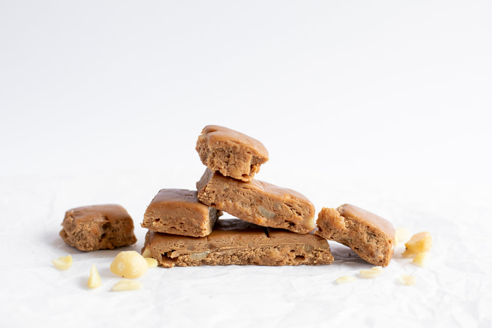 Load image into Gallery viewer, Caramel Macadamia Fudge