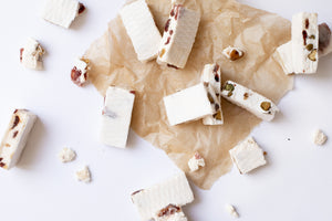 Load image into Gallery viewer, Cherry, Cranberry & Pistachio Nougat