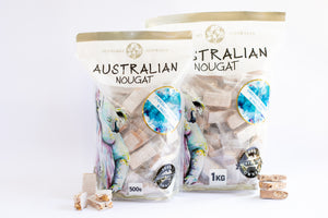 Australiana Chocolate, Almond & Hazelnut Nougat