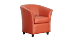 Rob Leather Tub Chair