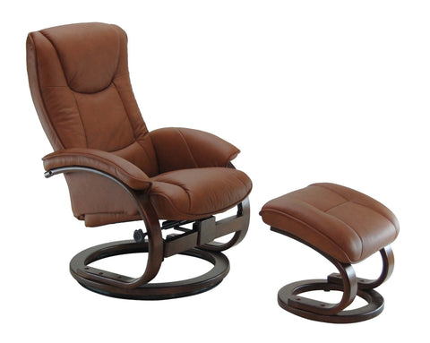 Duke Recliner Chair with Footstool