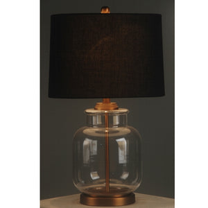 Brushed Gold Lamp