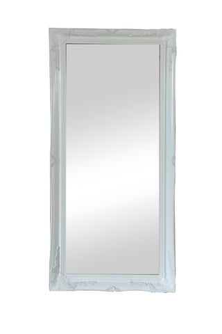 Felicity Mirror Brushed White