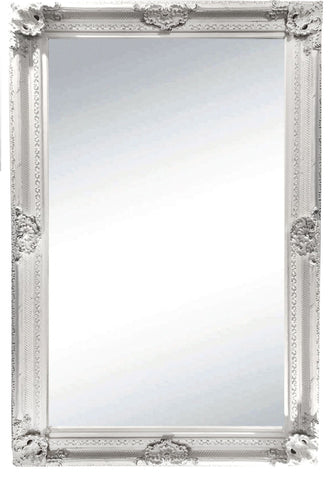 Gabriel Mirror Brushed White