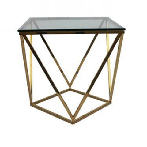 Glitz Gold Lamp Table