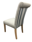 Upholstered Roll Back Dining Chair