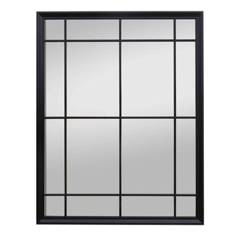 Window Mirror XLarge Black