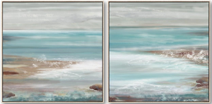 Ocean Reef Set of 2 Canvas