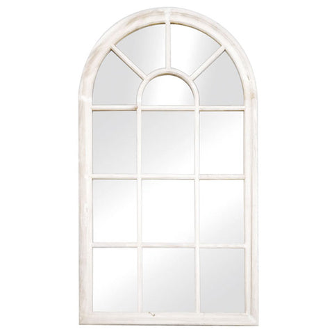 Arch Window Mirror White