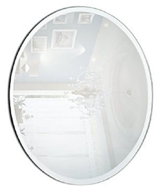 Bevel Oval Mirror