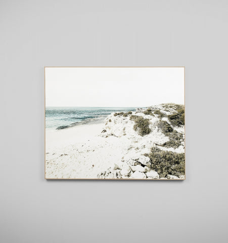 Blue Bay Scape Canvas