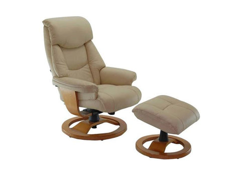 Grace Recliner and Footstool