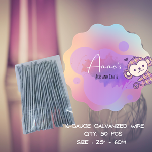 Pins - 16-Gauge Galvanized Wire