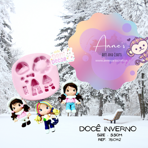 Silicone Mold - Sweet Winter - Doce Inverno  Collection Dani Décor