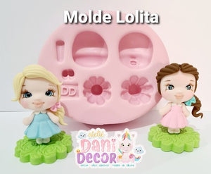 Silicone Mold Lolita  - Lolita Doll   - Collection Dani Décor