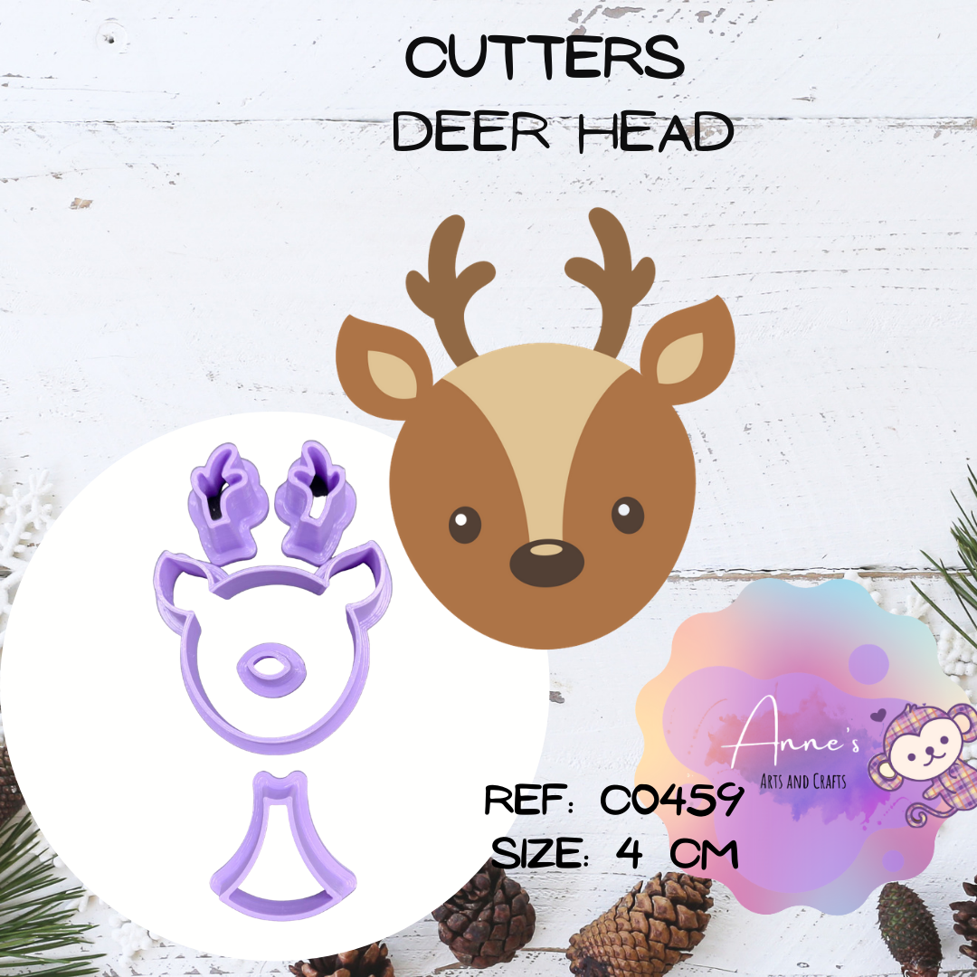 Cutter Set -  Deer Head